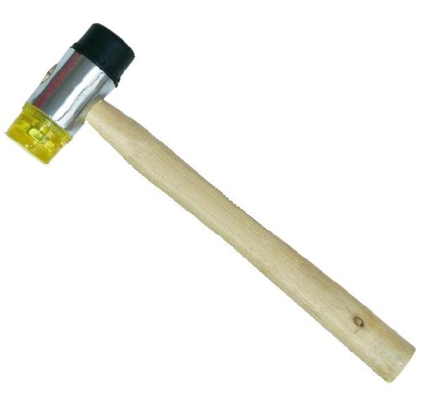 Domborító kalapács fanyéllel 32mm/350g Kód:233950, 013632
