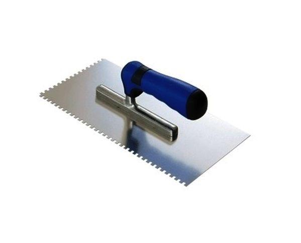 Glettvas 10mm fogazott 280x130mm, rozsdamentes acél Kód:820559