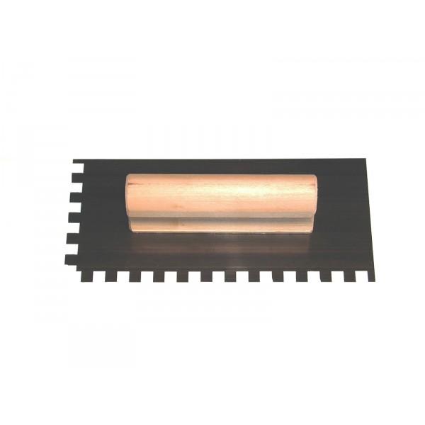 Glettvas fogazott  3mm acél 120x260mm Kód:64513