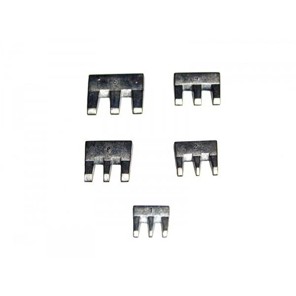 Szerszámnyél Ék 5 Db/Készlet Kód:64701