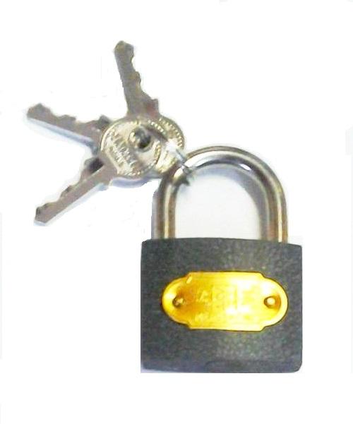 Lakat vas 63mm, 3 kulcsos Kód:71183