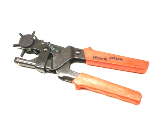 Lyukasztófogó revolver WorkPlusz 225mm Kód:018351