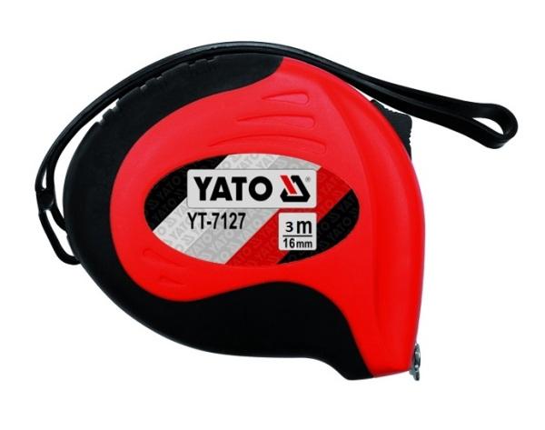 Mérőszalag YATO 3m×16mm mágneses Kód:YT-7126