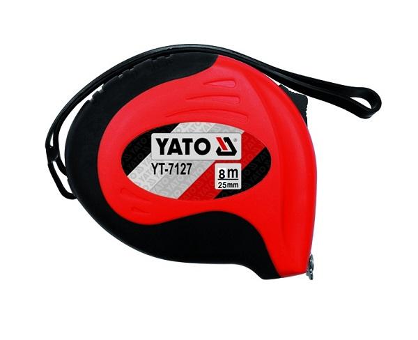 Mérőszalag YATO 8m×25mm mágneses Kód:YT-7112