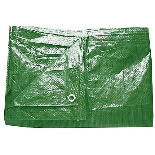 Ponyva zöld színű vízhatlan 5×8m 65g/m2  Kód:2170093