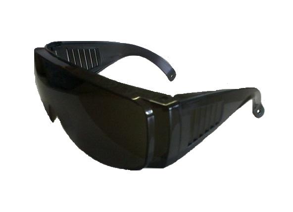 Védőszemüveg PLEXI sötétített Kód:77116