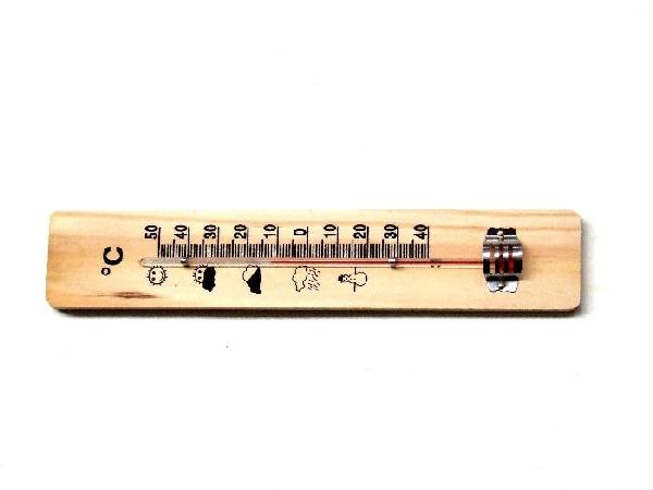 Hőmérő fa 20cm Kód:01002