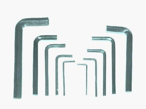 Imbusz Készlet 10 Részes 2-12mm Ezüst Színű Kód:32021