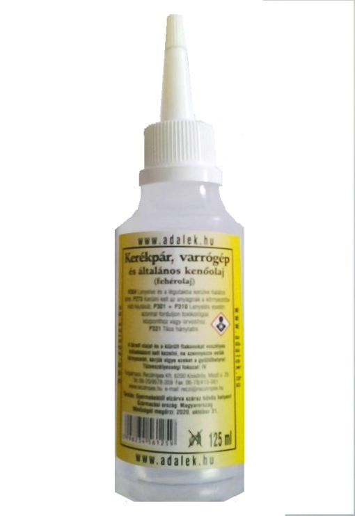 Műszerolaj Fehér 125ml Kód:49025