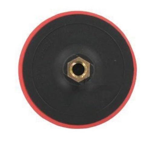 Csiszoló Gumitányér Tépőzáras 115mm Flexre, Polirozáshoz m14 Kód:222312