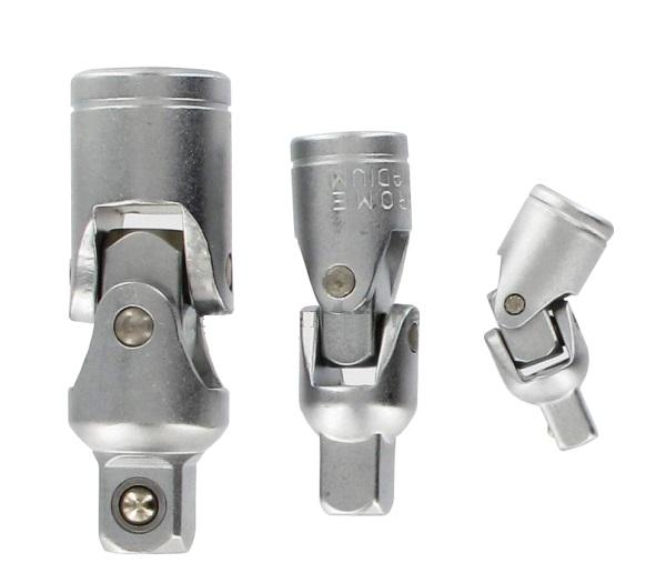 Dugókulcs adapter készlet 3 részes, csuklós CrV. Kód:033482
