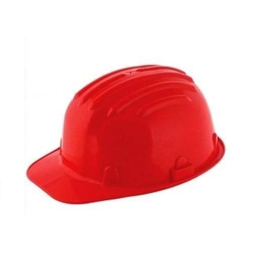 Védősisak piros CE Kód:77050