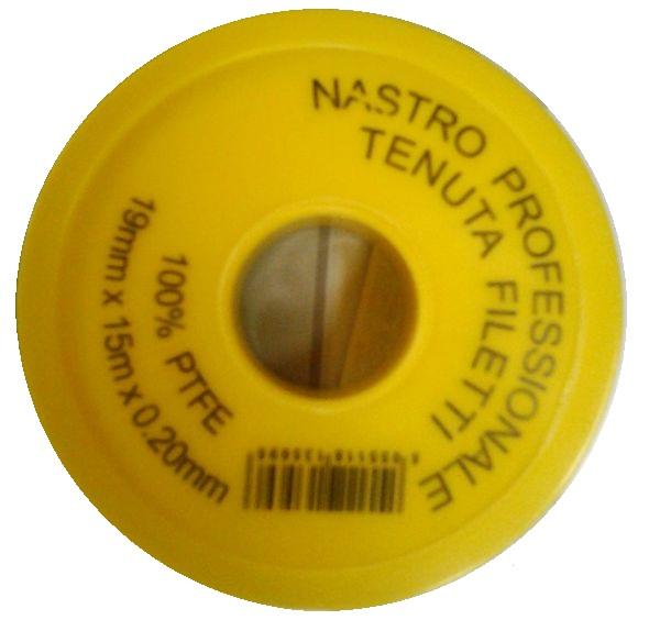 Teflonszalag Gázhoz 12mm×12m×0.1mm Kód:3567