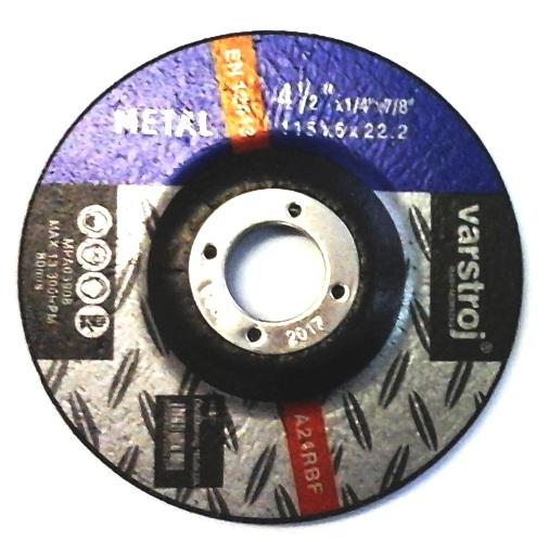 Tisztító Tárcsa Fémhez 115X6Mm×22,23mm VARSTROJ Kód:25642