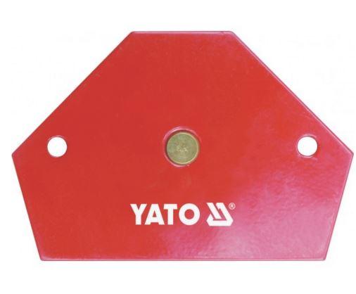 Mágneses sokszög összeillesztéshez 95×64×14mm 11,5kg teherbírás YATO Kód:YT-0866