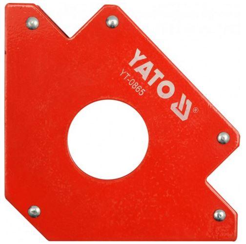 Mágneses szög összeillesztéshez 34kg teherbírás YATO Kód:YT-0865