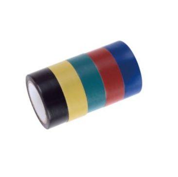 Szigetelőszalag 19mm×10m 5db/csomag Kód:062715