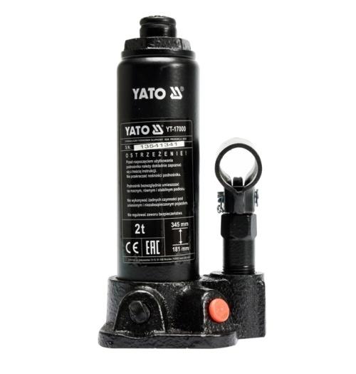 Emelő 2t YATO CE Kód:YT-17000