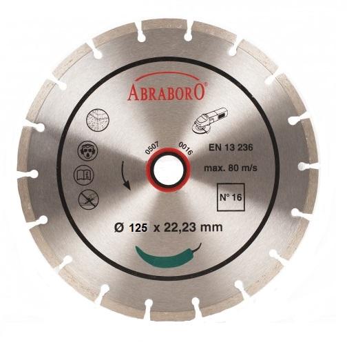 Gyémántkorong Extra 125mm fogas Kód:02988