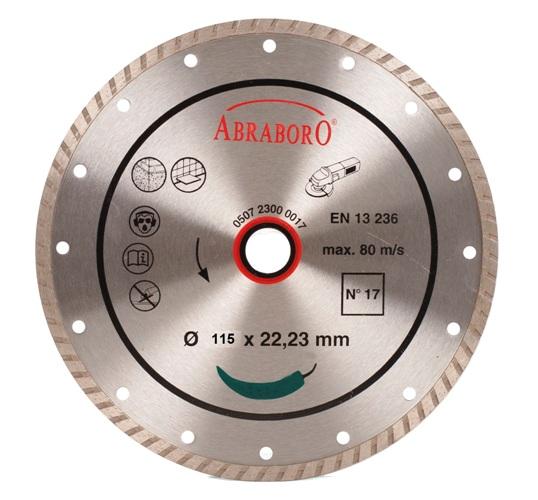 Gyémántkorong Turbo 115mm Extra erős Kód:02990