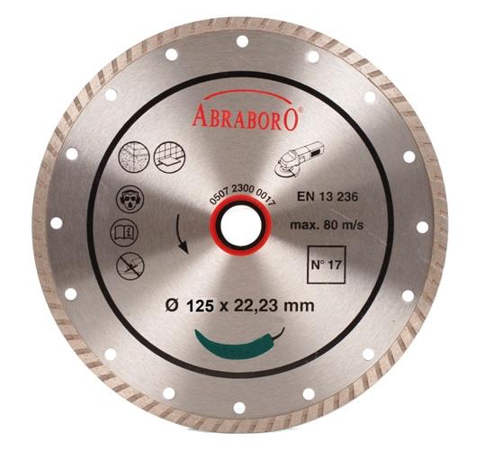 Gyémántkorong Turbo 125mm Extra erős Kód:02991