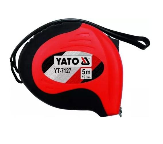Mérőszalag YATO 5m×19mm mágneses Kód:YT-7127