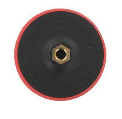 Csiszoló gumitányér tépőzáras 125 mm flexre Kód:222313