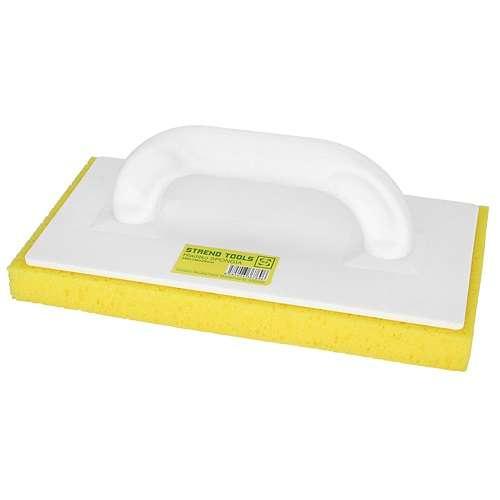 Simító mosó 14×28×3cm bevágott sárga szivacs Kód:81300, 70004