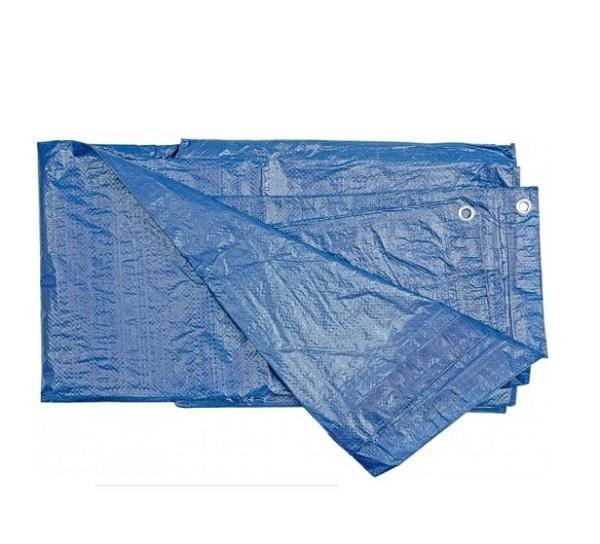 Ponyva vízhatlan  6×10m kék 75g/m2 Kód:250700