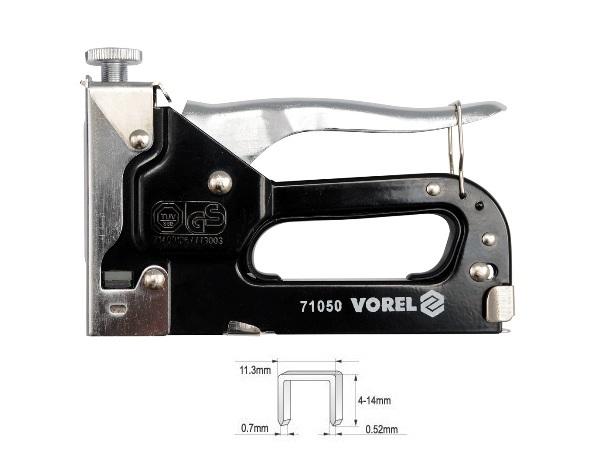 Tűzőgép kézi 4-14mm Tüv/gs VOREL Kód:271050