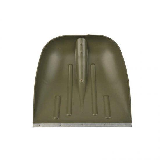 Hólapát műanyag 400mm fém élvédővel Kód:92440