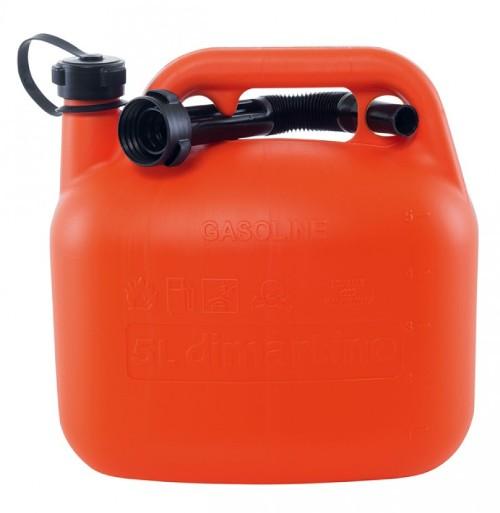 Üzemanyag kanna 5L műanyag It. Kód:31392
