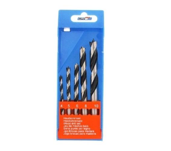 Fúró készlet 5részes fához 4-10mm WP Kód:042007