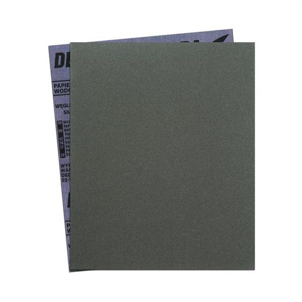 Csiszoló papír ív, vízálló P1500 280×230mm DEDRA Kód:F70AW1500
