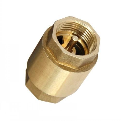 """Visszacsapó szelep rugós, szivattyúhoz 1 1/2""""  réz 72×92mm It. (6/4"""") Kód:370036"""