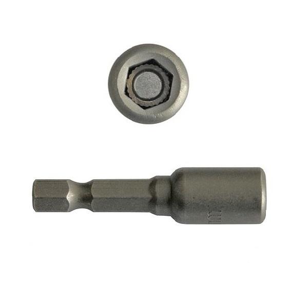 Bit dugókulcs mágneses 1/4col  7×48mm CrV. Kód:18A0907