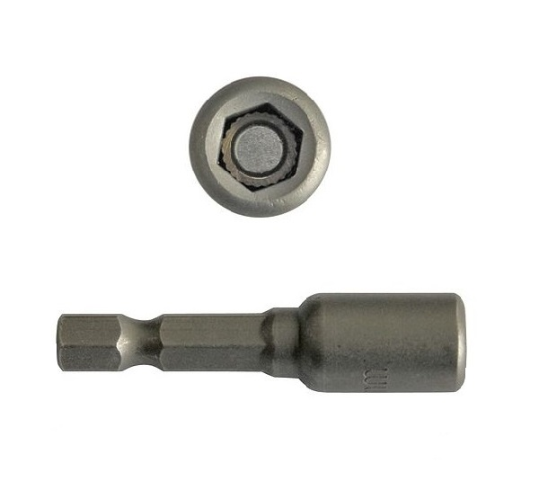 Bit dugókulcs mágneses 1/4col 12×48mm CrV. Kód:18A0912