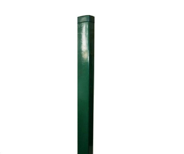 Zártszelvény kerítés oszlop 60×40×1,5mm /2300mm zöld  Kód:o2300z
