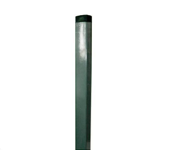 Zártszelvény kerítés oszlop 60×40×1,5mm /2300mm horganyzott  Kód:o2300h