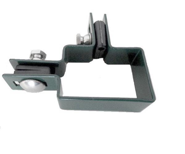 Zártszelvény kerítés bilincs SAROK 60×40mm ANTRACIT Kód:BSA