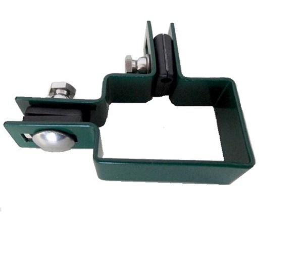 Zártszelvény kerítés bilincs SAROK 60×40mm ZÖLD Kód:BSZ