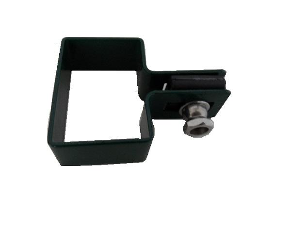 Zártszelvény kerítés bilincs VÉG 60×40mm ZÖLD Kód:BVZ