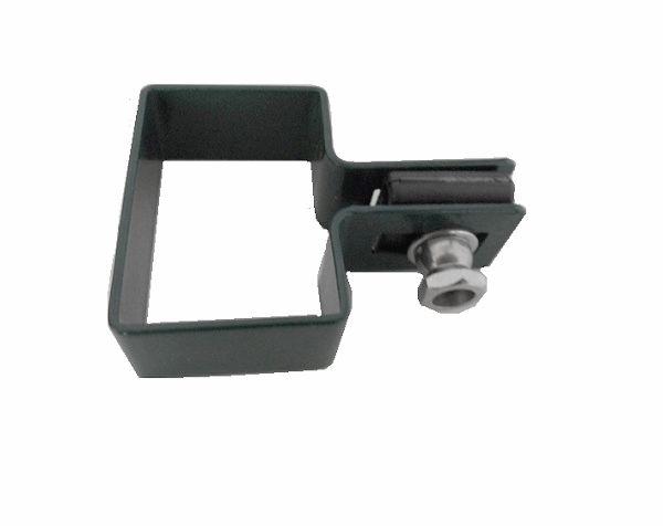Zártszelvény kerítés bilincs VÉG 60×40mm ANTRACIT Kód:BVA