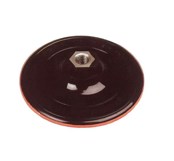 Csiszoló gumitányér tépőzáras, flexre 125 mm Kód:222336