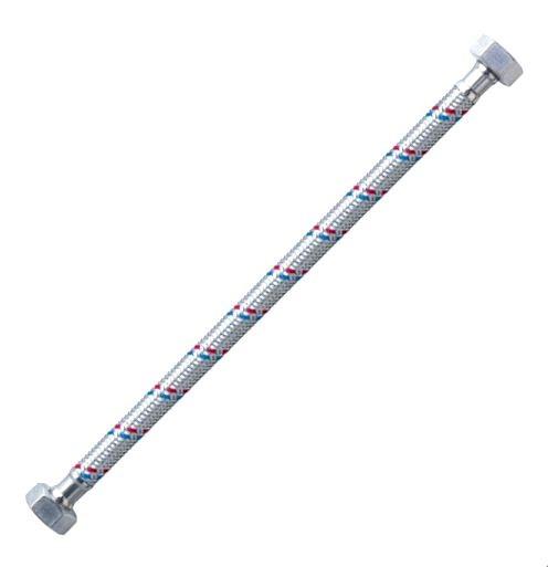 Flexi bekötőcső vízhez 1/2 - 1/2 col 35 cm BB Kód:121235