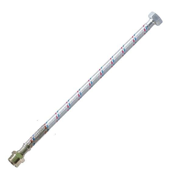 Flexi bekötőcső vízhez 3/8 - 3/8 col 35 cm KB Kód:383836